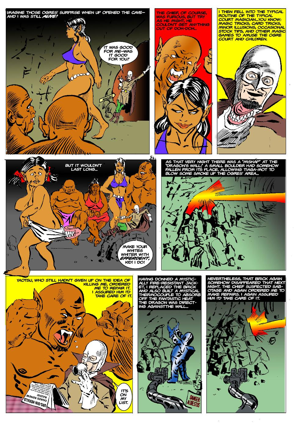 The Born Again Wizard and the Ogress Dancing Queen Page 19