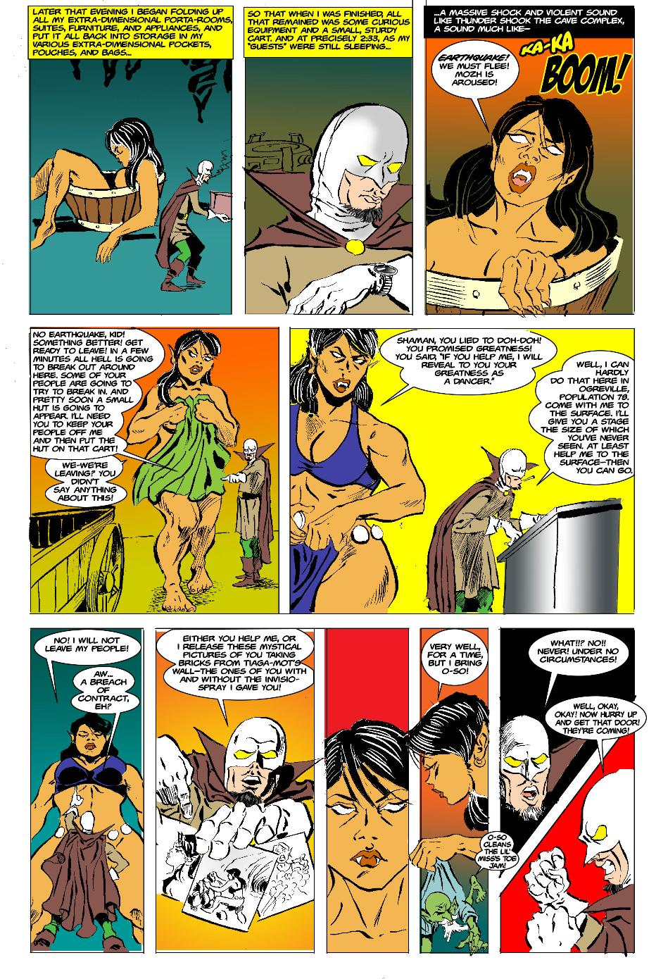 The Born Again Wizard and the Ogress Dancing Queen Page 21