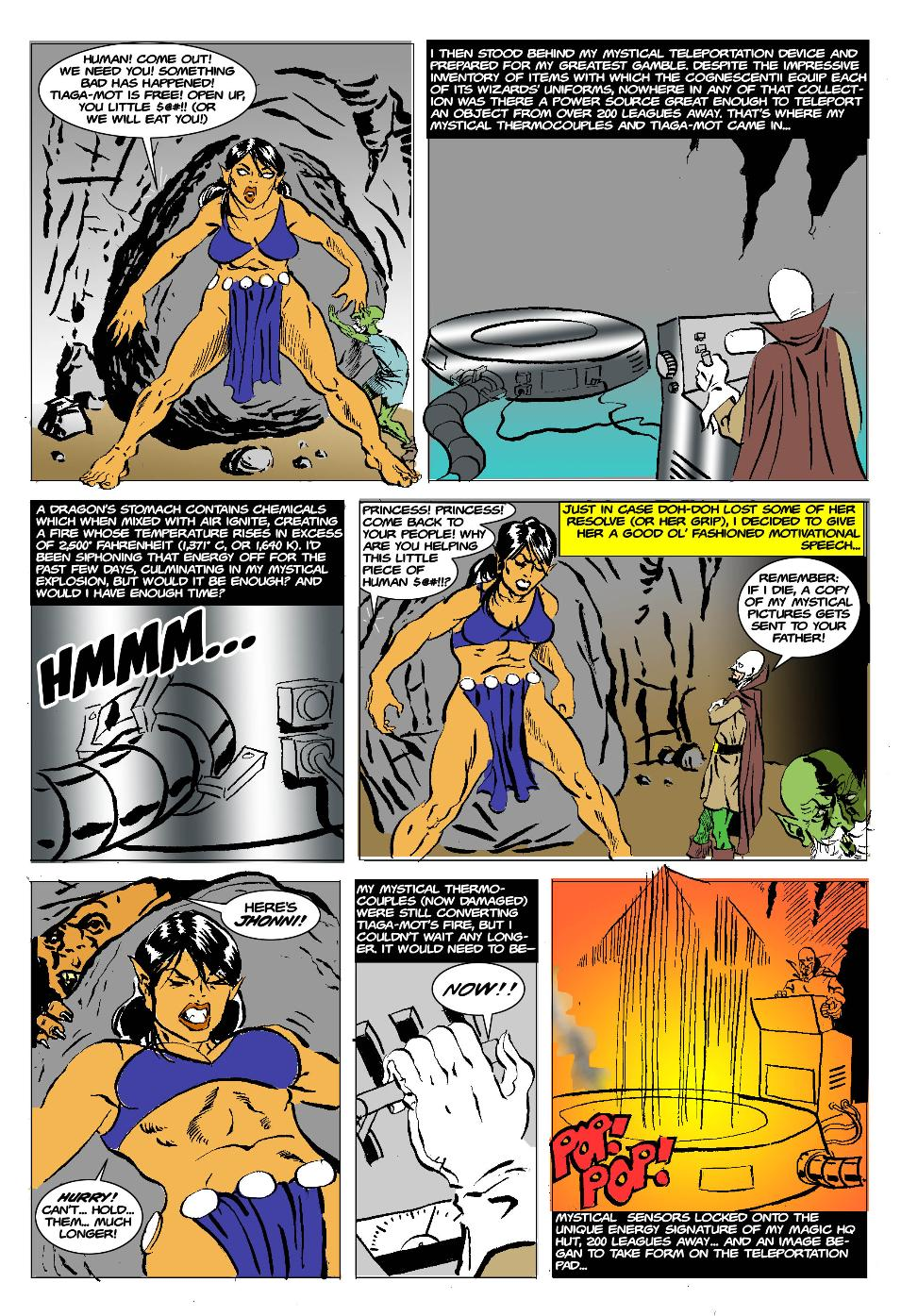 The Born Again Wizard and the Ogress Dancing Queen Page 22