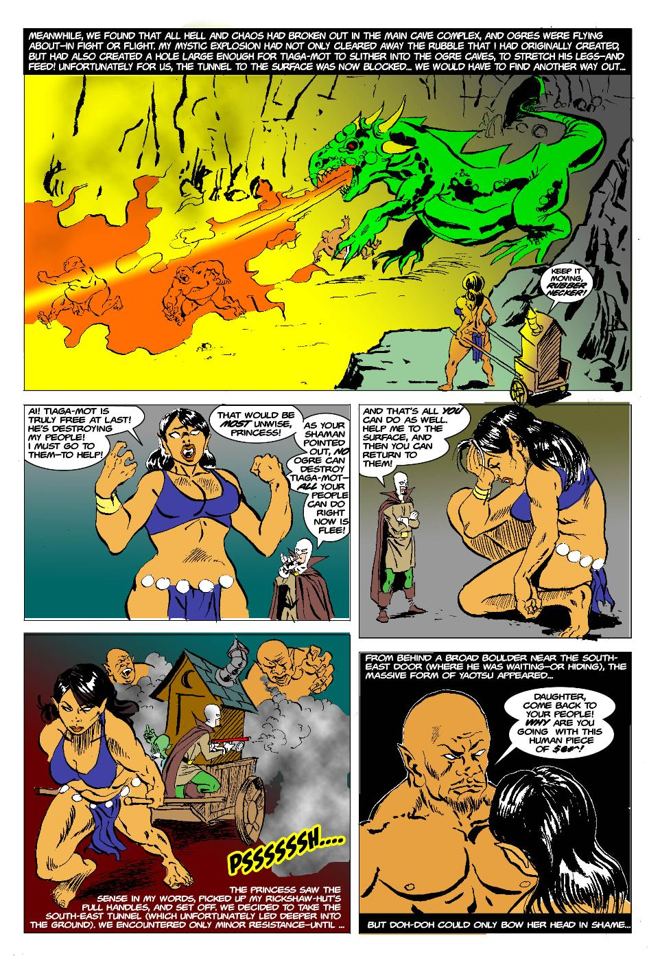 The Born Again Wizard and the Ogress Dancing Queen Page 24