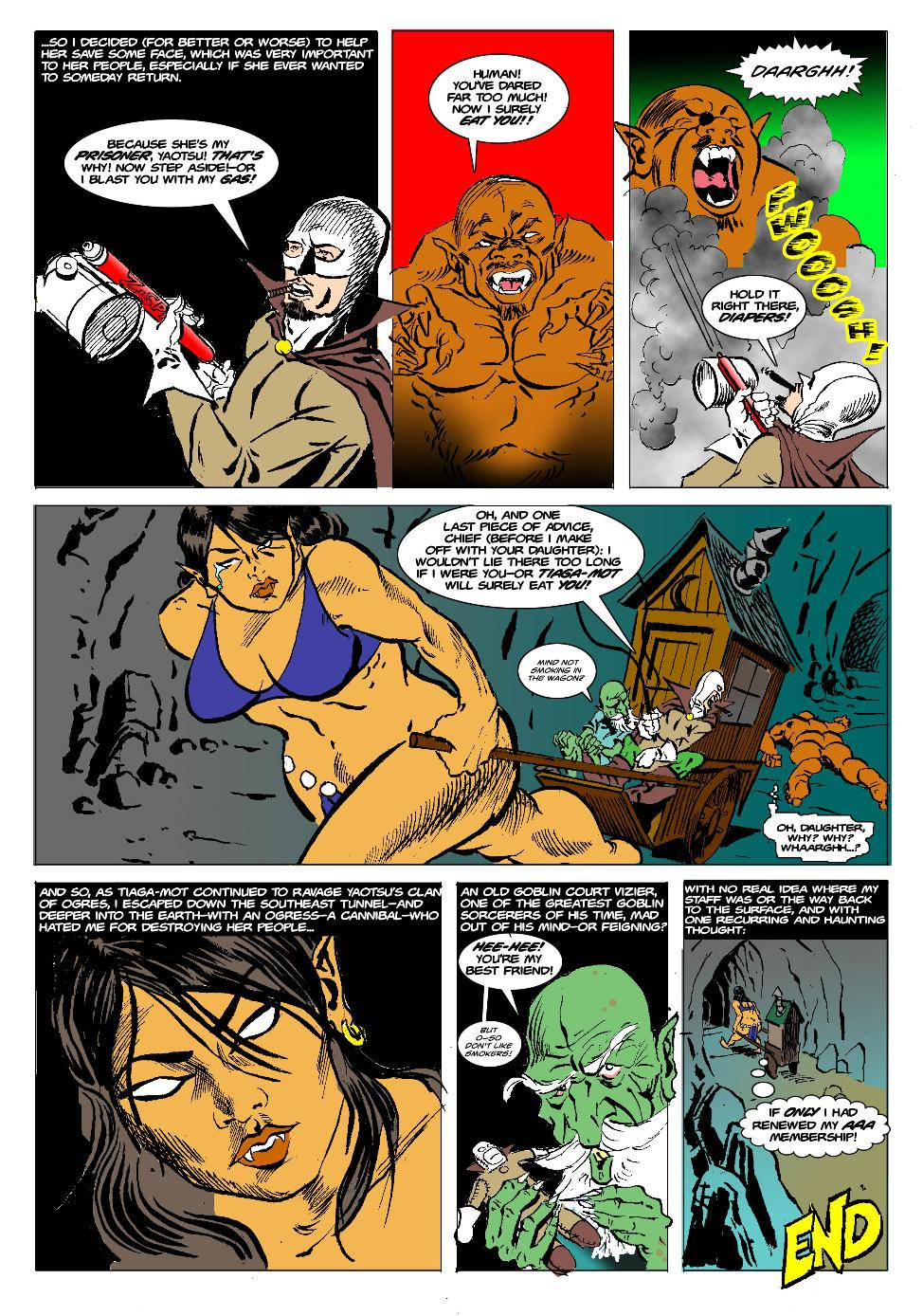 The Born Again Wizard and the Ogress Dancing Queen Page 25 End