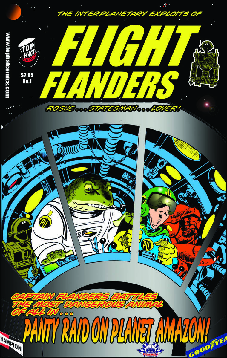 Flight Flanders Cover #1