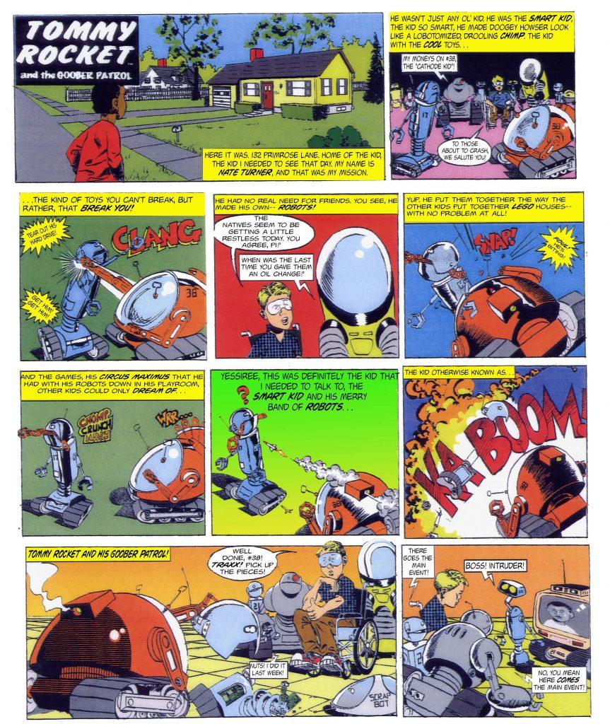 Tommy Rocket page 1