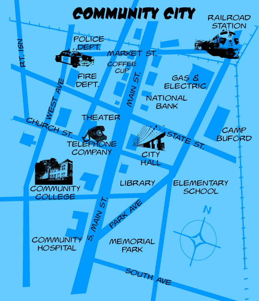 Community City Map