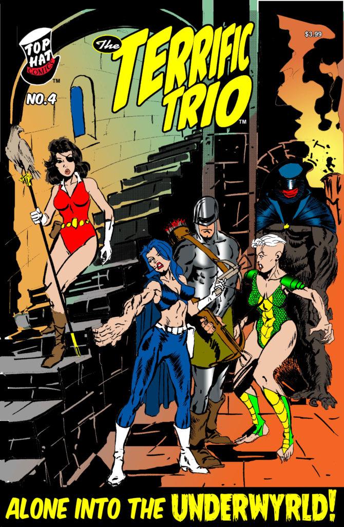 Terrific Trio #4 Cover