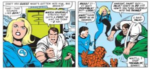 Ben Grimm vs Thing