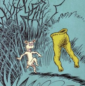 The Scary Green Pants of Seuss
