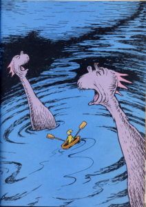 Seuss Scary Sea Monsters