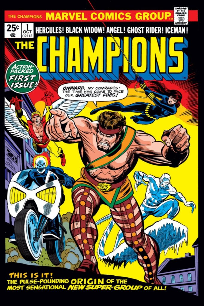 Cover of Champions 1