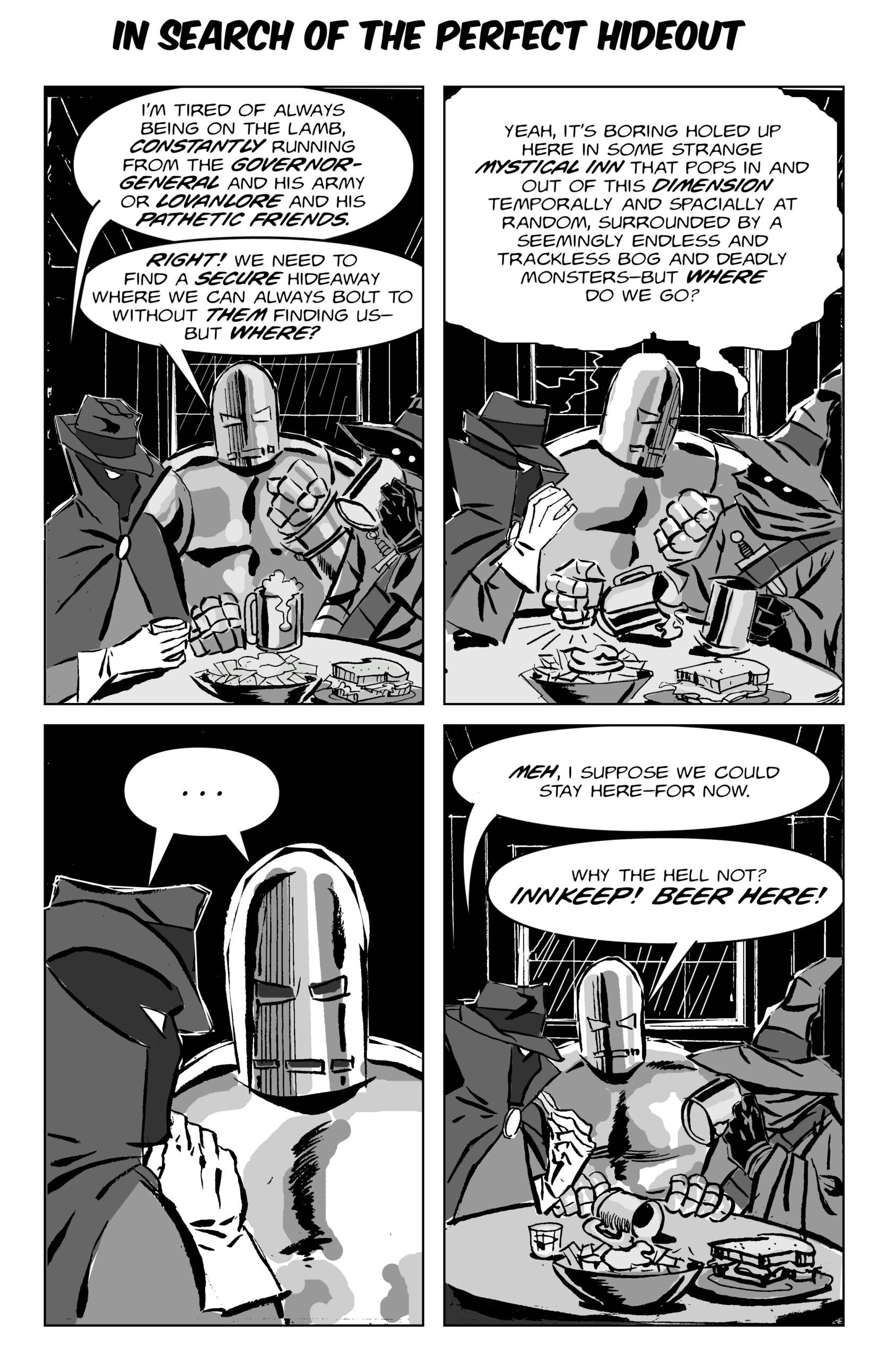 """Book 1: """"Law of the Outlaws!"""" Page 34:"""